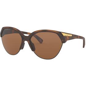 Oakley Trailing Point Okulary przeciwsłoneczne Kobiety, brązowy